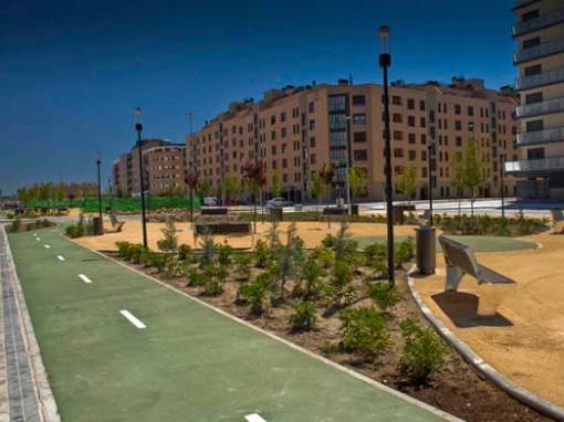 Actuaciones de mejora del parque ZV10 y otras zonas verdes
