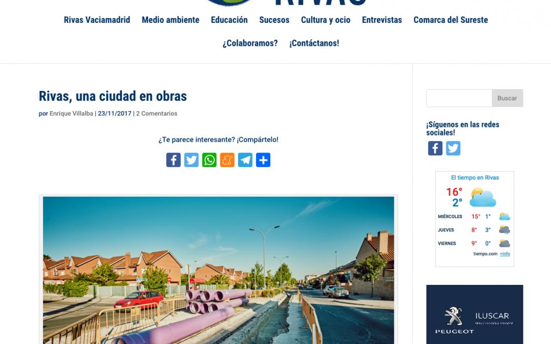 Diario de Rivas: Rivas, una ciudad en obras