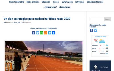 Diario de Rivas: Un plan estratégico para modernizar Rivas hasta 2020